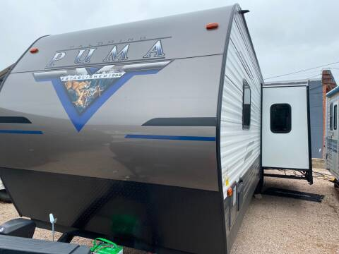 2021 Forest River PUMA 28BHSS for sale at ROGERS RV in Burnet TX