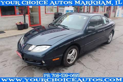 2005 Pontiac Sunfire for sale in Markham, IL
