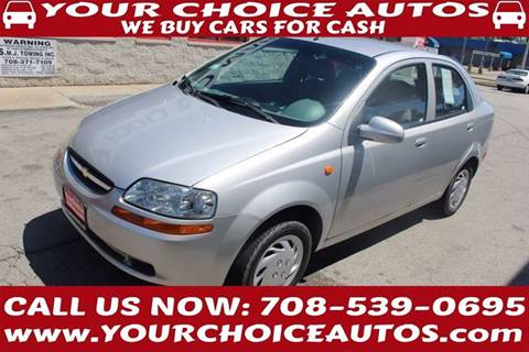 2004 Chevrolet Aveo for sale in Markham, IL