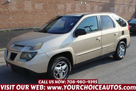 2004 Pontiac Aztek for sale in Burbank, IL