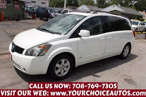 2006 Nissan Quest for sale in Posen, IL