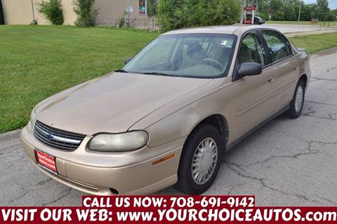 2001 Chevrolet Malibu for sale in Crestwood, IL