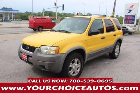 2002 Ford Escape for sale in Markham, IL