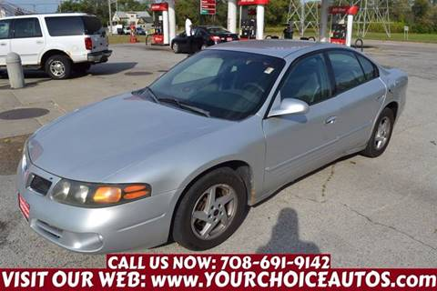 2003 Pontiac Bonneville for sale in Crestwood, IL
