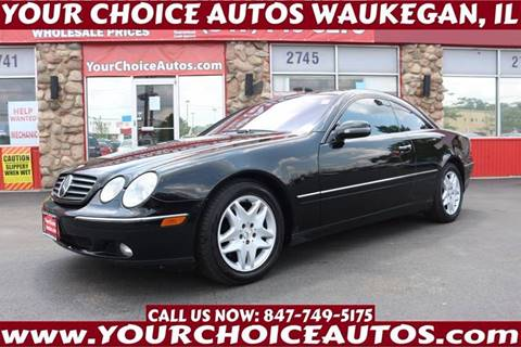 2002 Mercedes-Benz CL-Class for sale in Waukegan, IL