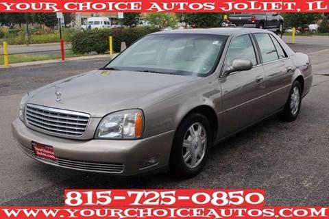 2003 Cadillac DeVille for sale in Joliet, IL