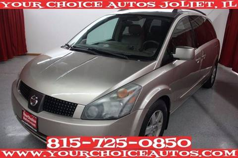 2004 Nissan Quest for sale in Joliet, IL