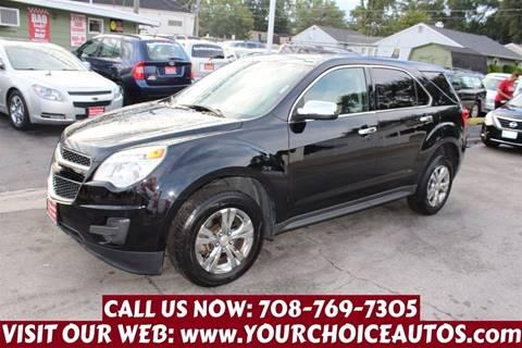 2012 Chevrolet Equinox for sale in Posen, IL