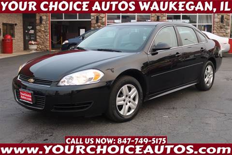 2011 Chevrolet Impala for sale in Waukegan, IL
