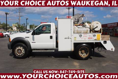 2005 Ford F-550 for sale in Waukegan, IL