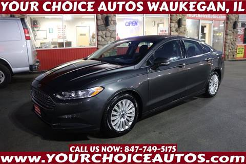 2015 Ford Fusion Hybrid for sale in Waukegan, IL