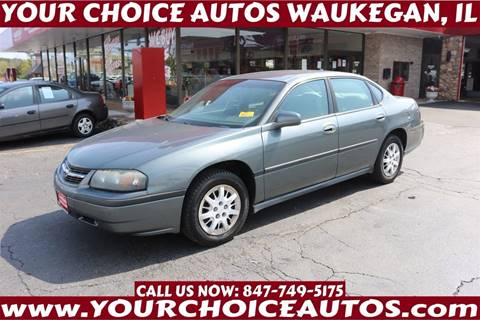 2004 Chevrolet Impala for sale in Waukegan, IL