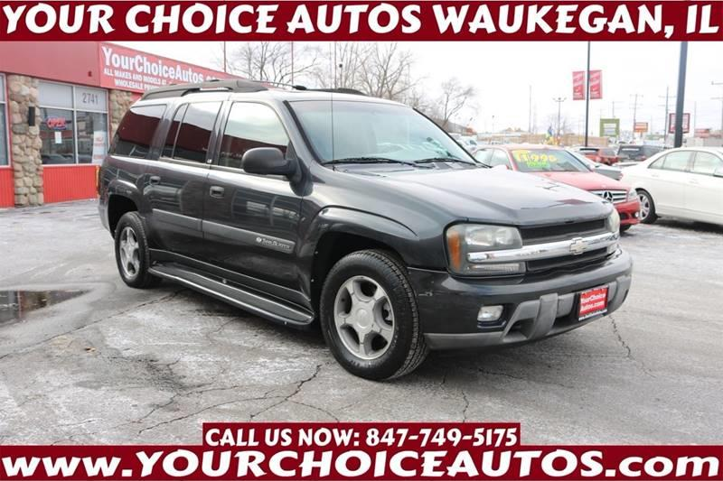 2004 chevrolet trailblazer ext ls 4wd 4dr suv in posen il your choice autos. Black Bedroom Furniture Sets. Home Design Ideas