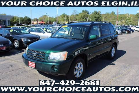 2001 Toyota Highlander for sale in Elgin, IL
