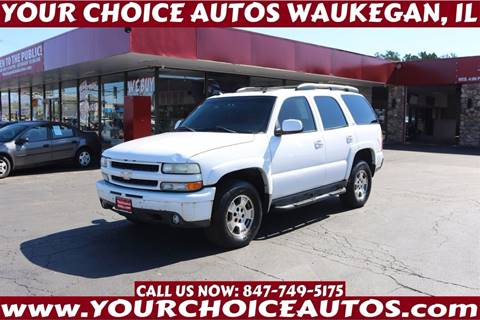 2003 Chevrolet Tahoe for sale in Waukegan, IL