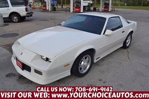 1989 Chevrolet Camaro for sale in Crestwood, IL