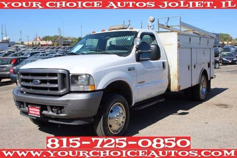 2004 Ford F-550 for sale in Joliet, IL