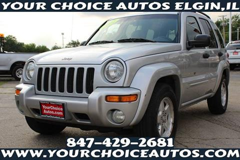 2002 Jeep Liberty for sale in Elgin, IL