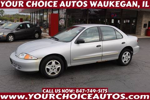 2002 Chevrolet Cavalier for sale in Waukegan, IL