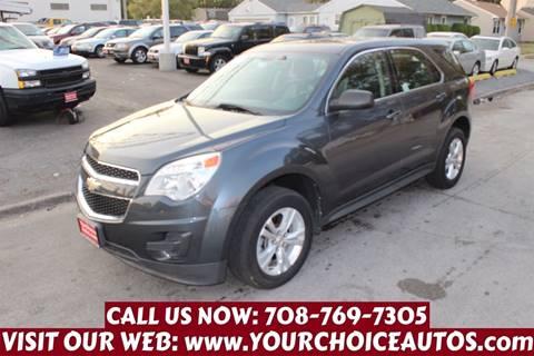 2011 Chevrolet Equinox for sale in Posen, IL