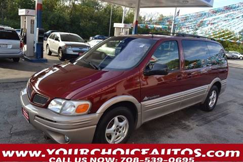2001 Pontiac Montana for sale in Markham, IL