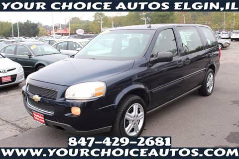 2005 Chevrolet Uplander for sale in Elgin, IL