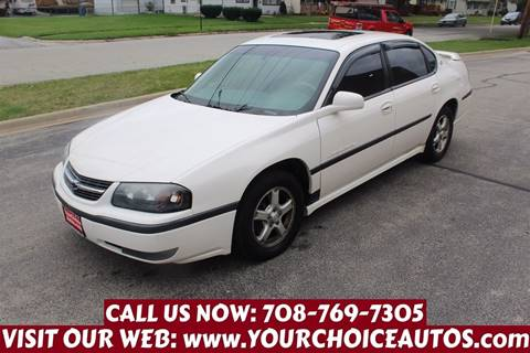2003 Chevrolet Impala for sale in Posen, IL