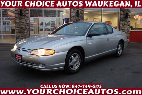 2005 Chevrolet Monte Carlo for sale in Waukegan, IL