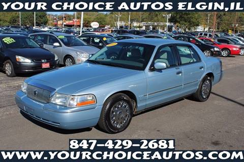 2003 Mercury Grand Marquis for sale in Elgin, IL