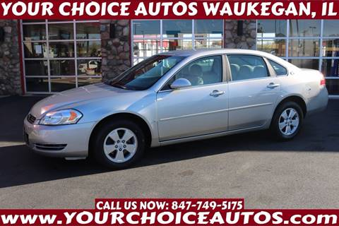2008 Chevrolet Impala for sale in Waukegan, IL