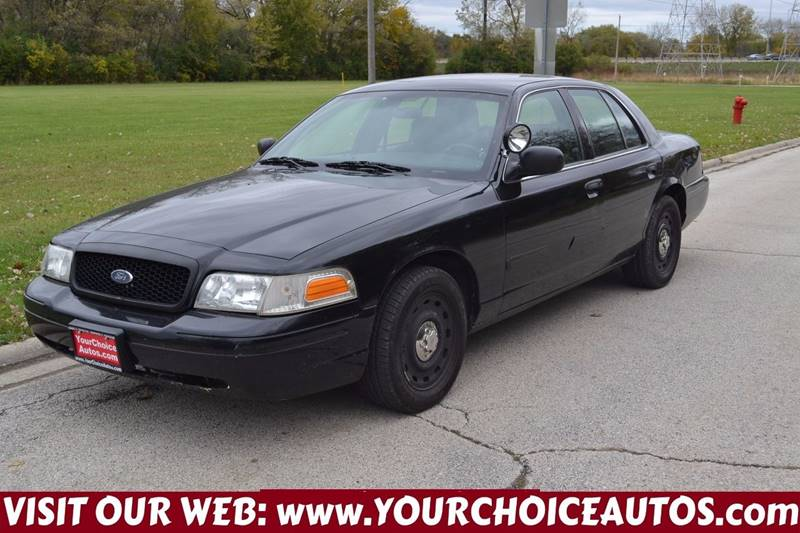 Ford Crown Victoria Police Interceptor WStreet Appearance - 2004 crown victoria