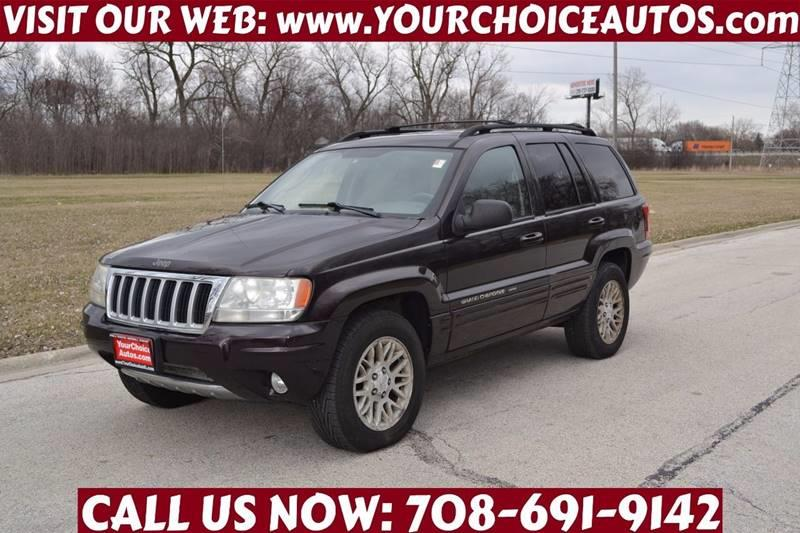 2004 Jeep Grand Cherokee Limited 4WD 4dr SUV   Crestwood IL