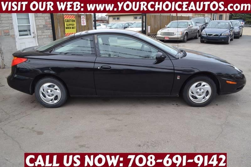 2002 Saturn S Series Sc1 3dr Coupe In Posen Il Your Choice Autos