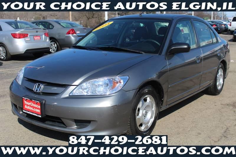 2004 Honda Civic Hybrid 4dr Sedan   Elgin IL