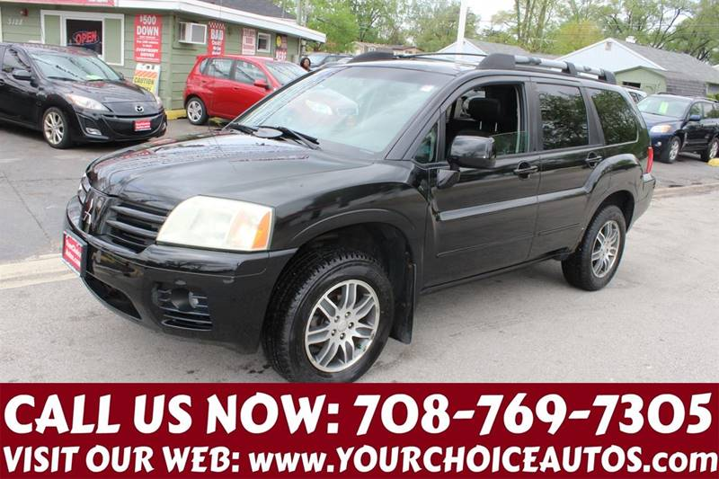 2004 Mitsubishi Endeavor Limited 4dr Suv In Posen Il Your Choice Autos