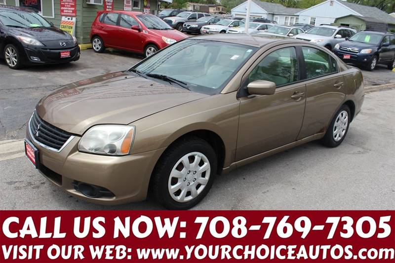 2009 Mitsubishi Galant ES 4dr Sedan In Posen IL - Your Choice Autos