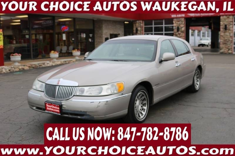 2001 Lincoln Town Car Signature In Posen Il Your Choice Autos