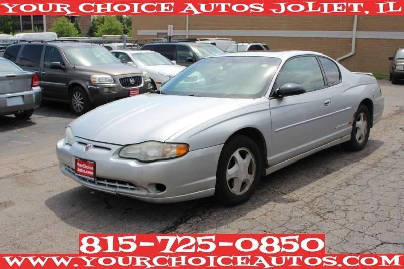 2003 Chevrolet Monte Carlo Ss 2dr Coupe In Posen Il Your Choice Autos