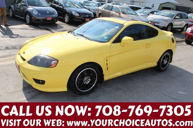 2006 hyundai tiburon gt limited 2dr hatchback in posen il your choice autos. Black Bedroom Furniture Sets. Home Design Ideas