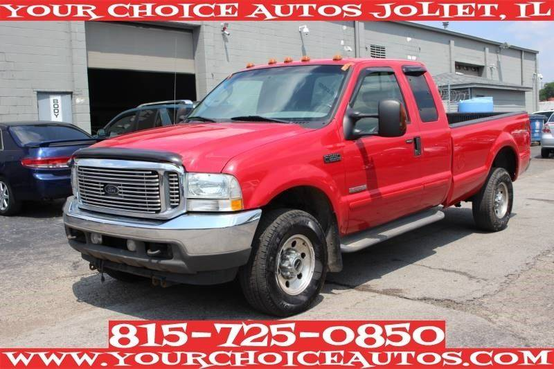 2004 ford f 350 super duty xl in posen il your choice autos. Black Bedroom Furniture Sets. Home Design Ideas
