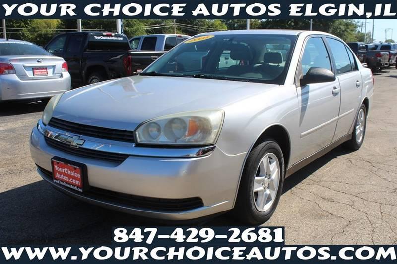 2005 Chevrolet Malibu LS 4dr Sedan   Elgin IL