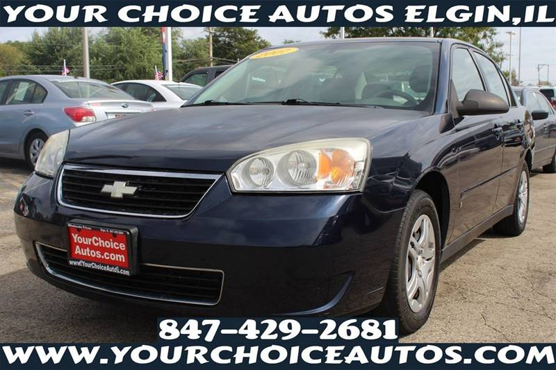 2007 Chevrolet Malibu LS 4dr Sedan   Elgin IL