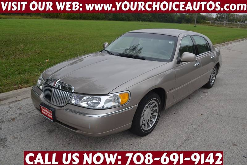 2000 Lincoln Town Car Signature In Posen Il Your Choice Autos