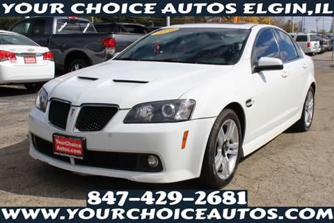 2008 Pontiac G8 for sale in Elgin, IL