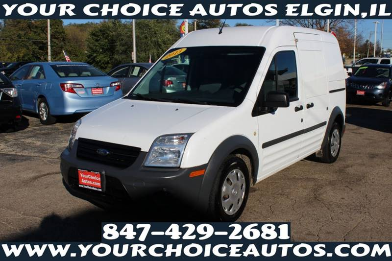 2013 Ford Transit Connect Cargo Van Xl In Posen Il Your Choice Autos