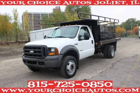 2005 Ford F-550 Super Duty for sale in Joliet, IL