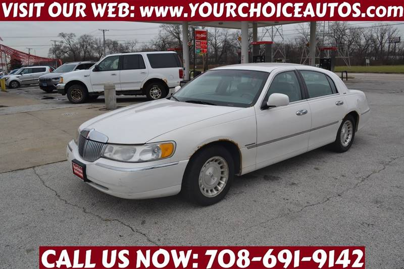 1998 Lincoln Town Car Executive In Posen Il Your Choice Autos