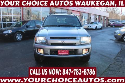 2001 Infiniti QX4 for sale at Your Choice Autos - Waukegan in Waukegan IL