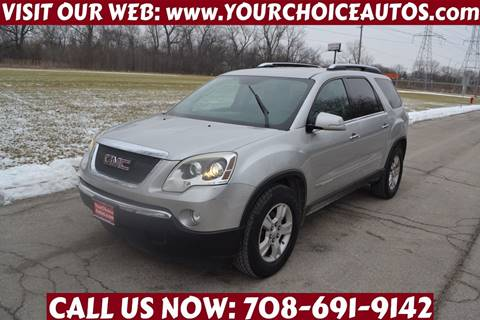 2007 GMC Acadia for sale in Crestwood, IL