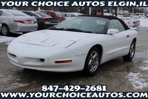 1997 Pontiac Firebird for sale in Elgin, IL